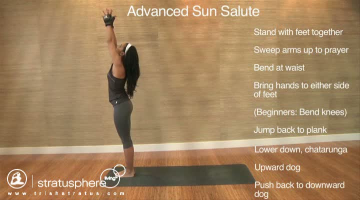 Stratusphere Yoga DVD: Advanced Sun Salute