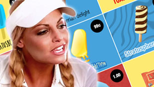 First look at the Trish Stratus Chalk Line jacket