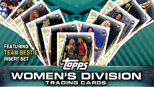 Team Bestie authors new Topps cards