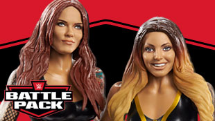 New proto images of Trish & Lita Battle Pack from Mattel