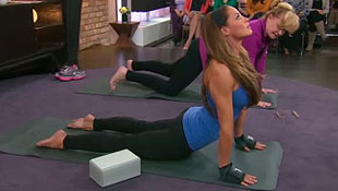 Video: Trish Stratus on The Marilyn Denis Show (Sept 2011)