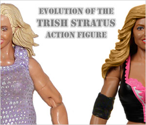 Evolution of Trish Stratus in WWE games