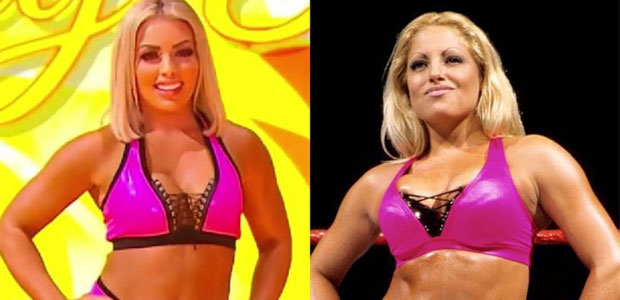 Mandy Rose pays tribute to Trish Stratus with ring gear