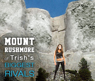 Mount Rushmore of Trish's biggest rivals in WWE