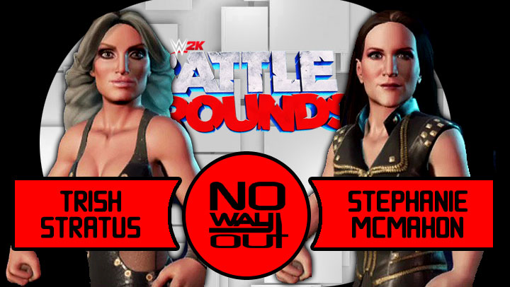 WWE 2K Battlegrounds: Trish Stratus vs. Stephanie McMahon | No Way Out Fantasy Rematch