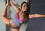 Inside Fitness: On set with Trish Stratus