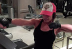 Trish Stratus' 45 min all-inclusive treadmill workout (as seen in Oxygen)
