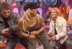 Trish Stratus and Booker T dance to